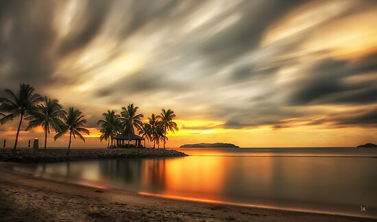 Sunset Bar - Kota Kinabalu by Dean Mullin