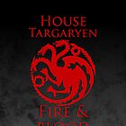 House Targaryen iPhone Case by Alexandra Grant