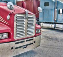 I Love Trucks-2 Sticker