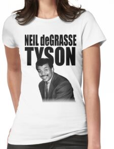 Neil deGrasse Tyson Womens Fitted T-Shirt