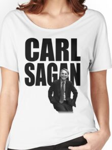 Carl Sagan Women's Relaxed Fit T-Shirt