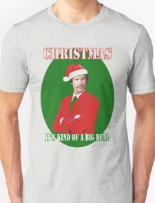 Burgundy Santa T-Shirt