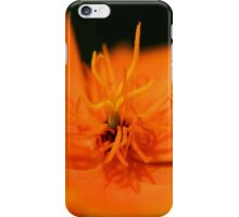 Poppy Orange iPhone Case/Skin