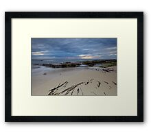 Low Tide At Redgate Beach - Western Australia Framed Print