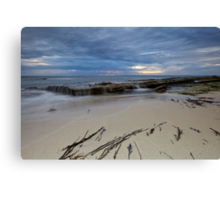 Low Tide At Redgate Beach - Western Australia Canvas Print