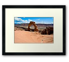 Delicate Arch - Arches NP, Utah Framed Print