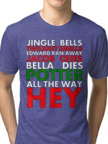 Harry Potter Jingle Bells Tri-blend T-Shirt