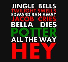 Harry Potter Jingle Bells Women's Fitted Scoop T-Shirt
