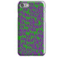 Joker Laugh iPhone Case/Skin