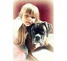 My Best Friend - Colour Version Photographic Print