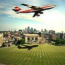 TWA Fly Over Kansas City by TeeMack