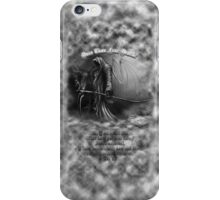 Does Thou Fear Death? iPhone Case/Skin