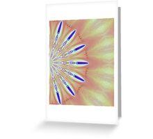 Kaliedoscope Poppy Greeting Card