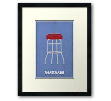 It's a Sharknado! Framed Print