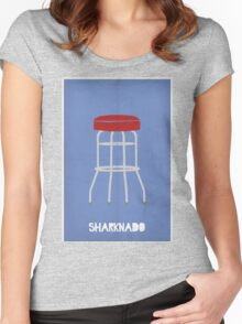 It's a Sharknado! Women's Fitted Scoop T-Shirt