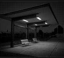 Bus Shelter by Daral Chapman