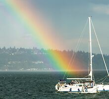 Sailing Puget Sound by Jim Stiles