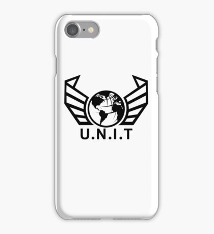 New U.N.I.T (Black) iPhone Case/Skin