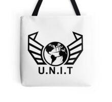 New U.N.I.T (Black) Tote Bag