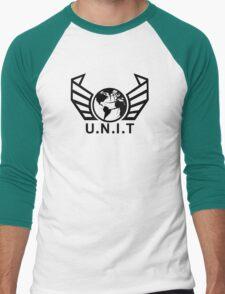 New U.N.I.T (Black) Men's Baseball ¾ T-Shirt