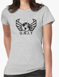 New U.N.I.T (Black) Womens Fitted T-Shirt