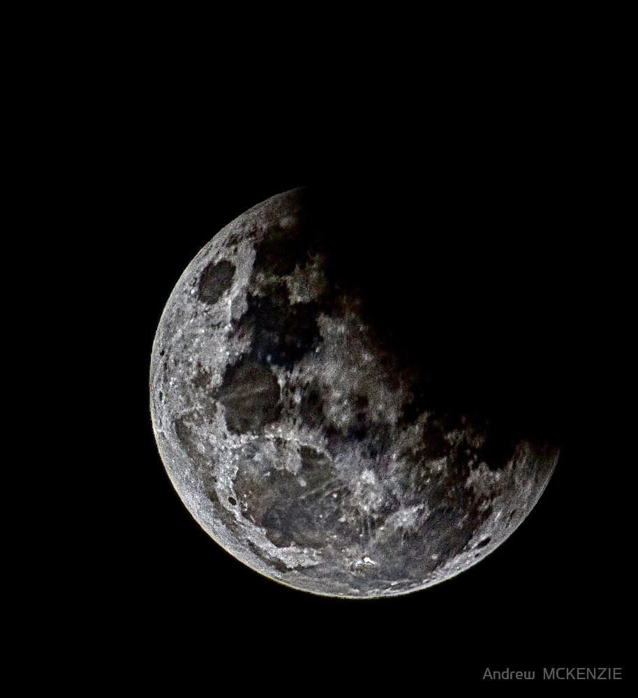 Lunar Eclipse June 2012 by Andrew  MCKENZIE