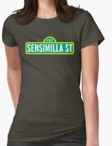 Sensimilla Street Womens Fitted T-Shirt