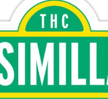 Sensimilla Street Sticker