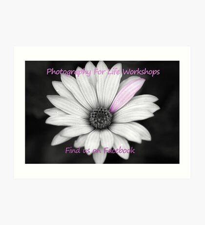Photography for life workshops Art Print