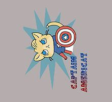 Captain Americat iPhone Case by starlite-decay