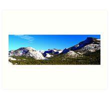 "Sierras Panorama"" Art Print"
