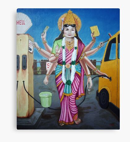 A Goddess Has to do what a Goddess has to do.  Canvas Print