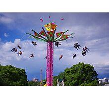 Stormy Vertigo Photographic Print