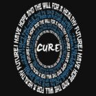 Cure (blue and white text) by creativenergy