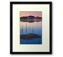 Sunset Stick Up Framed Print