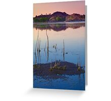 Sunset Stick Up Greeting Card