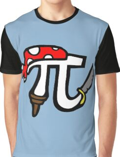 Pi Pirate Graphic T-Shirt