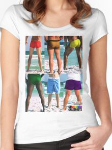 Equality House Fundraiser #11 (stack) Women's Fitted Scoop T-Shirt