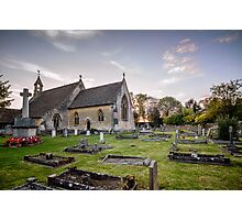 St Saviour's church in Tetbury, The Cotswolds Photographic Print