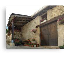 Spanish Rural House Metal Print