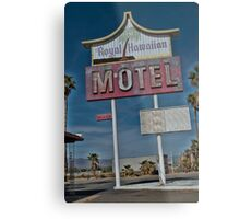 Old & Tired Motel Metal Print