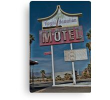 Old & Tired Motel Canvas Print