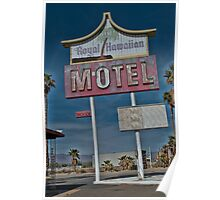 Old & Tired Motel Poster