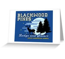 Until Dawn - Blackwood Pines Lodge Greeting Card