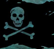 Pirate flag 56 by Chandra Nyleen Sticker