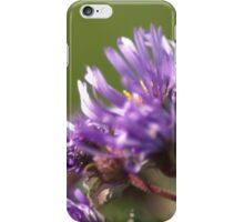 Purple Wild Flowers iPhone Case/Skin