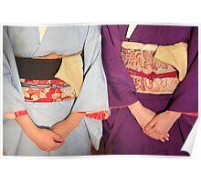 Graceful kimonos Poster