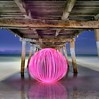 Ball Of Light Jetty by Shannon Rogers