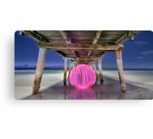 Ball Of Light Jetty Canvas Print