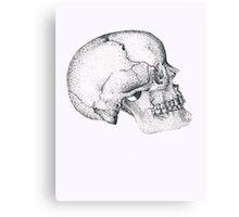 Wilbur Malone the Skull Canvas Print